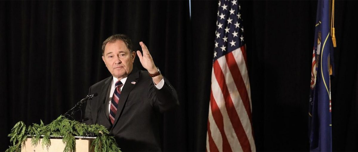 Utah Governor Gary Herbert presents his fiscal year 2020 budget.