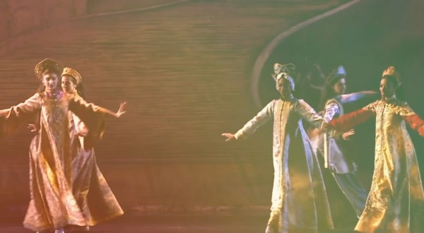 Dancers from the Donate video